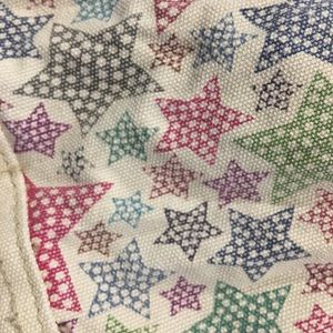 Bags - Cute star pattern canvas tote!